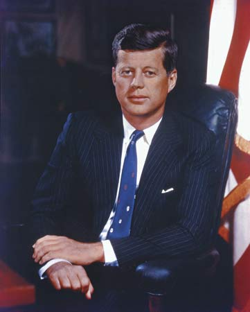 John Fitzgerald Kennedy (1917-1963) 35th President of the United States