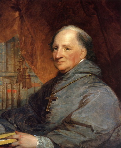John Carroll, former Jesuit and first American bishop