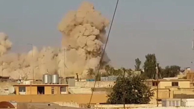 The Mosque said to contain the remains of the Prophet Jonah was destroyed by ISIS militants last week.
