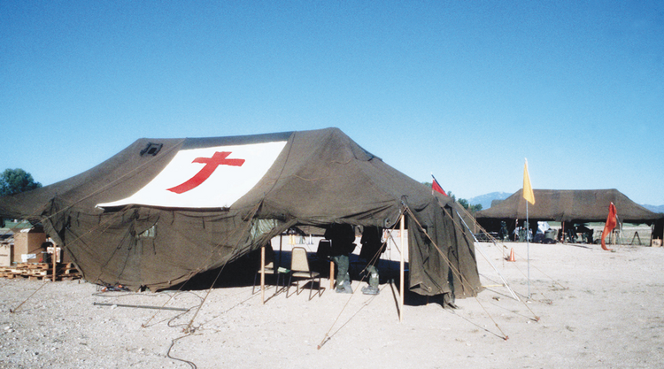 """We must work to see that our field hospital is a place filled with hope."""