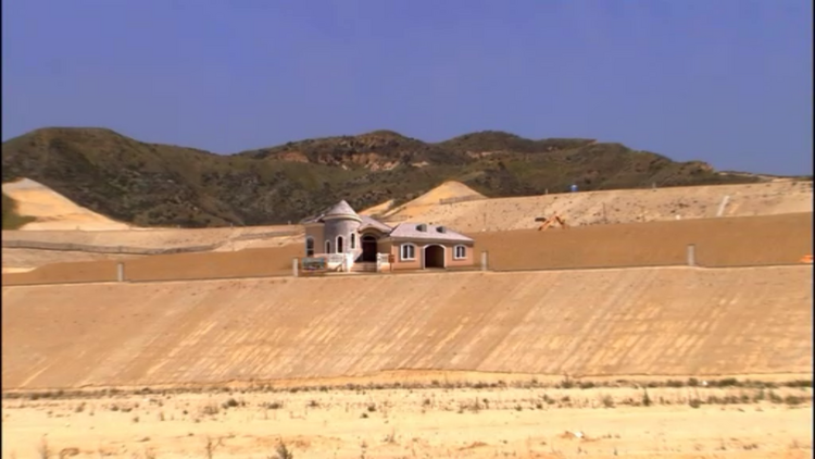 "The right to a house like this may become a major wedge issue in American politics. (Image from the TV series ""Arrested Development"")"