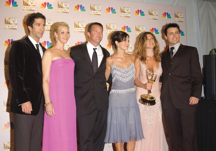 "THERE FOR YOU. Emmy-winning ""Friends"""