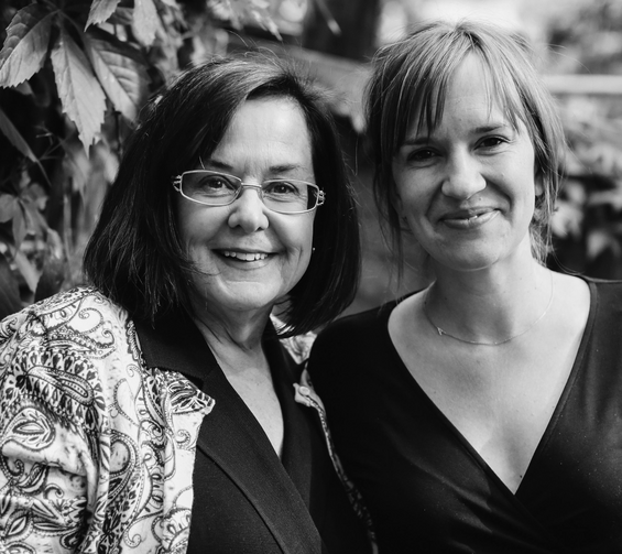 Left to Right: Mother-daughter co-authors Melissa Musick and Anna Keating (Image Books/photo provided)