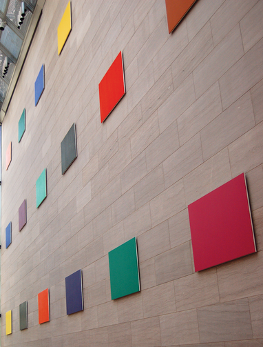 """Color Panels for a Large Wall,"" by Ellsworth Kelly, 1978"