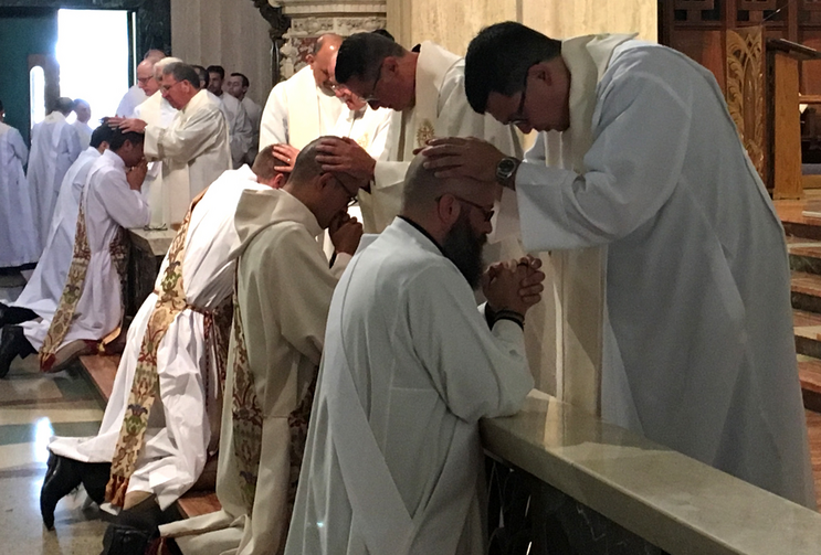 Los Angeles ordinations in 2017. Photo courtesy of the Jesuit Conference.