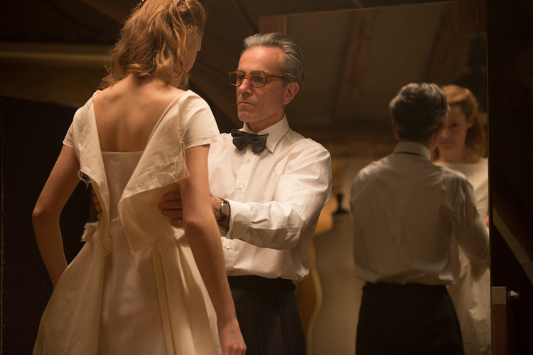 "Vicky Krieps and Daniel Day-Lewis in ""The Phantom Thread"" (Focus Features)"