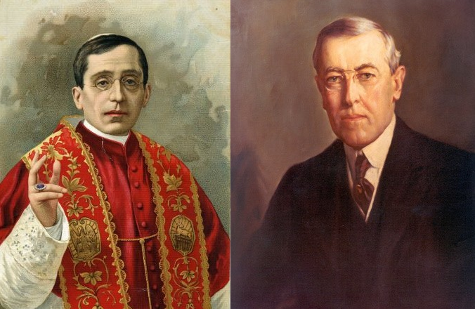 A Catholic Pope and a Presbyterian President: Benedict XV and Woodrow Wilson