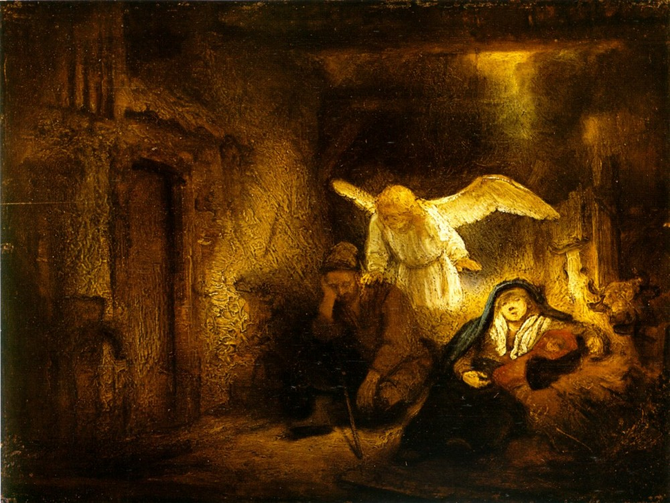 """Rembrandt Dream of Joseph"" (1645) photo: Wikimedia Commons"