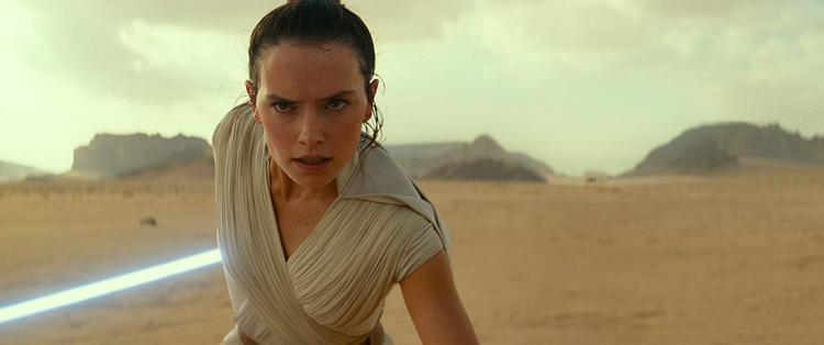 "Daisy Ridley stars in ""Star Wars: The Rise of Skywalker."" (CNS photo/Disney)"