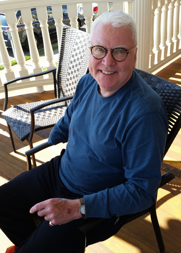 Richard Curry in Cape May, N.J., this summer