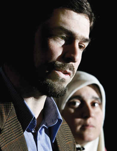 One Man's Rendition: Maher Arar, a victim of torture, and his wife, Monia Mazigh, in Ottawa, in December 2004