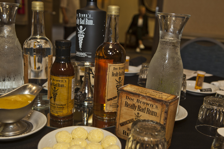Rum—it's not just for pirates anymore. Photo courtesy of Rob V. Burr.