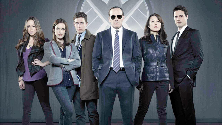 "The cast of ""Marvel's Agents of SHIELD"""