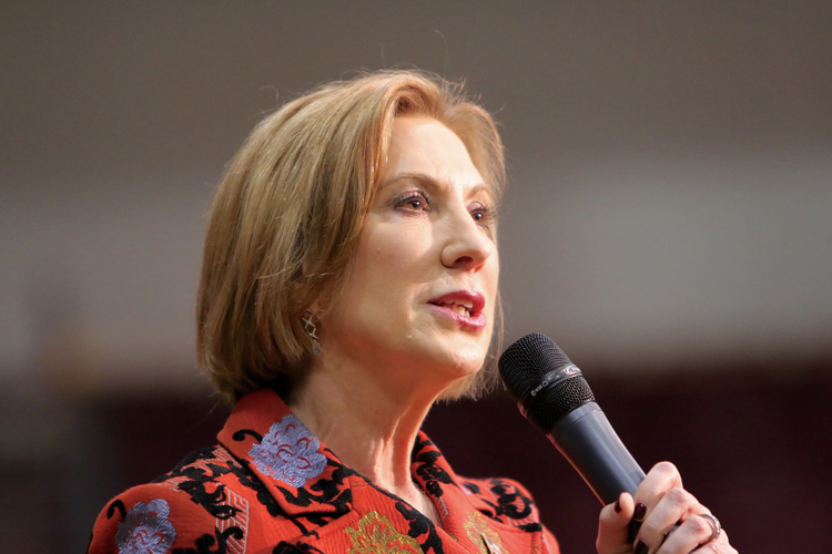 If you hate government with the heat of a thousand suns, you might think that Carly Fiorina crushed it on Tuesday night. (Shutterstock)