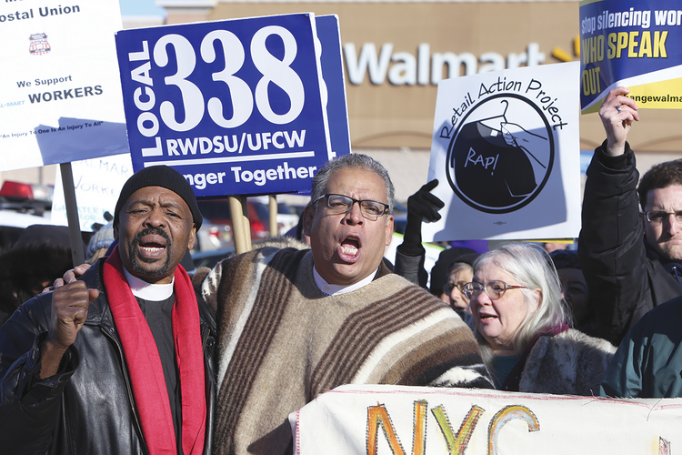 ALWAYS LOW WAGES? Maybe not: Walmart announces a wage hike on Feb. 19.