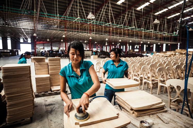 Next Generation: Young workers in Binh Duong Province, Vietnam.