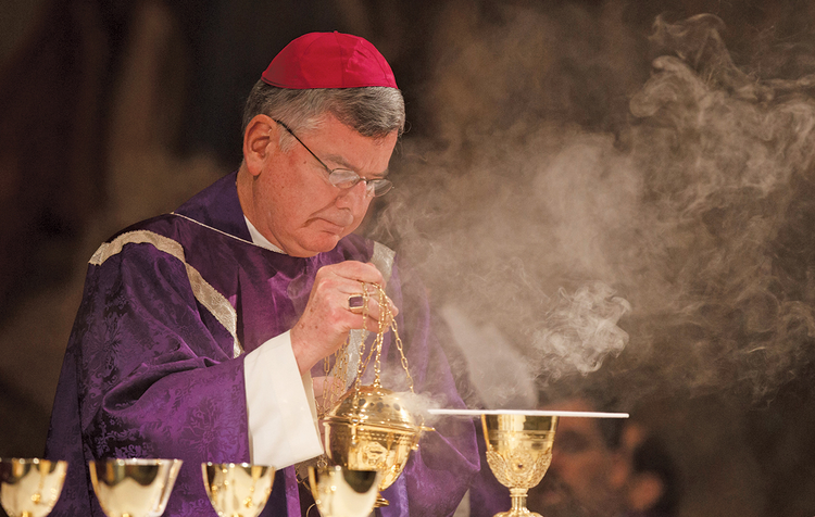 MORE BAD NEWS IN ST. PAUL/MINNEAPOLIS. The archdiocese declared bankruptcy in January and now faces criminal charges. Archbishop John Neinstedt is pictured here celebrating Mass in Rome in 2012.