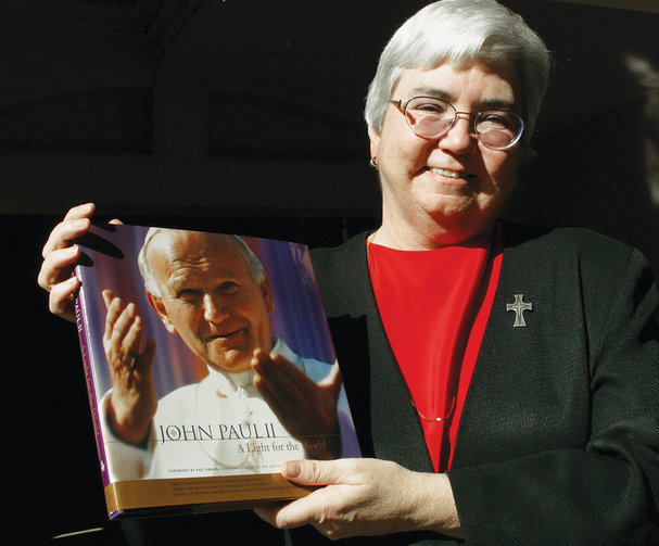 A HIGHLIGHT. In 2003, Sister Mary Ann edited John Paul II: A Light for the World.