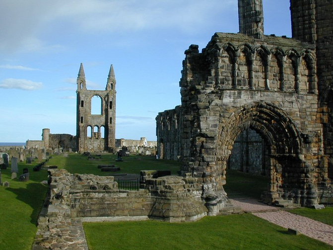 Cathedral, St Andrews Scotland