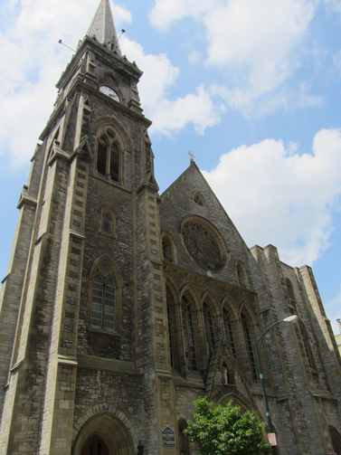 The Cathedral of St. Joseph in Buffalo, N.Y. was funded with help from the international church.