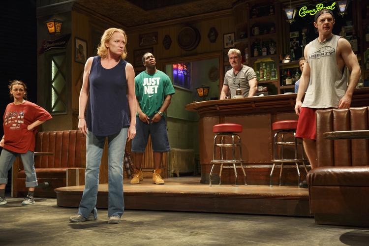 """Sweat"" by Lynn Nottage won this year's Pulitzer Prize for Drama (photo: Joan Marcus)."