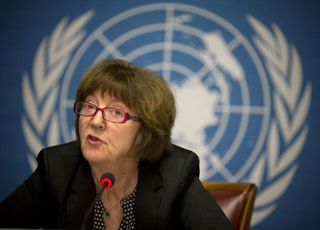 Kirsten Sandberg, chairperson of the United Nations Committee on the Rights of the Child