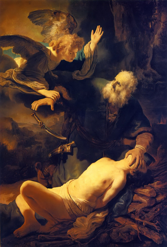 The Sacrifice of Isaac by Rembrandt 1635