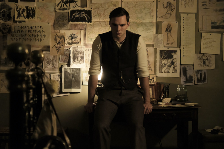 Tolkien is played both convincingly and charmingly by Nicholas Hoult (photo: Fox Searchlight).