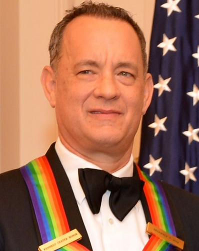 Hanks is a recipient of The 2014 Kennedy Center Honors Medallion, December 2014. Credit: Wikipedia.