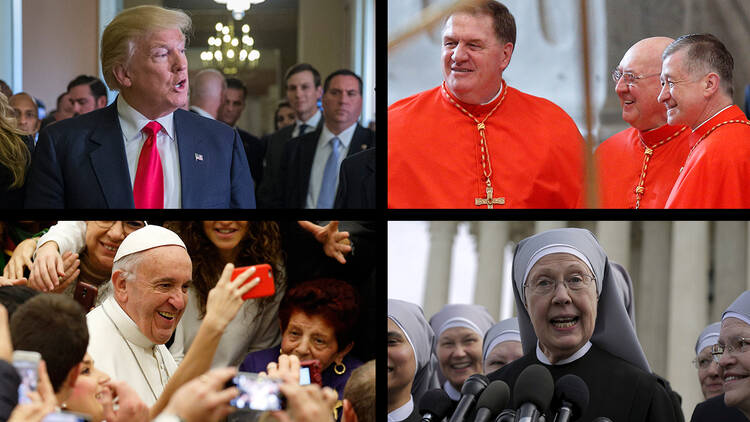 Pope Francis, Donald Trump, new American cardinals, and the Little Sisters of the poor—a sampling of the biggest Catholic stories in 2016.