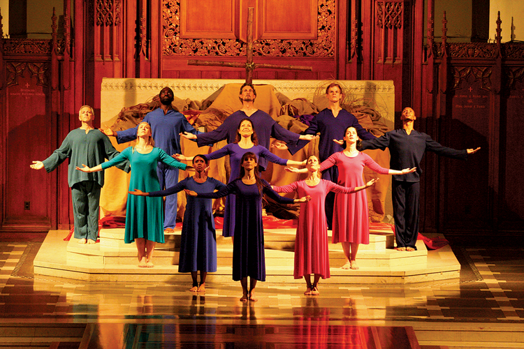 """For the Greater Glory of God,"" choreographed by Robert VerEecke, S.J."