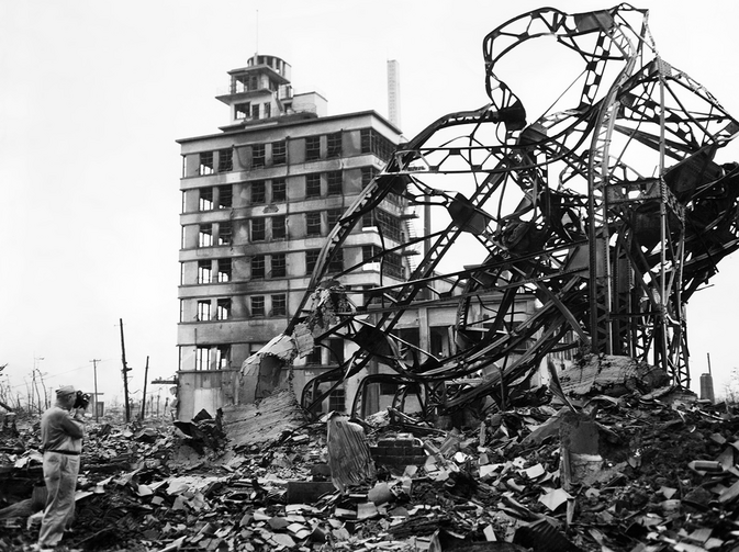 Nagasaki, 1945. Photo: Shutterstock/ Everett Historical