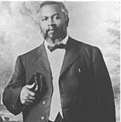 William J. Seymour, leader of the Azusa Street Revival