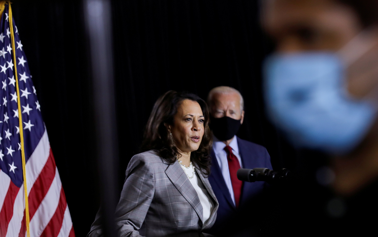 "Democratic presidential nominee Joe Biden vows to ""codify Roe v. Wade,"" and his running mate, Kamala Harris, has sponsored legislation that would override state laws and require the coverage of elective abortions by all federal health programs."