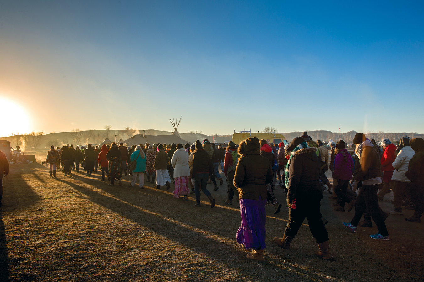 How Standing Rock became a spiritual pilgrimage for