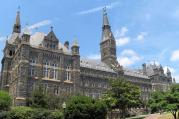 Healy Hall, Georgetown University. (photo by Gtownsfs, Creative Commons)