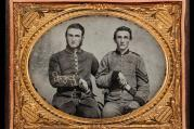 "Captain Charles A. and Sergeant John M. Hawkins, Company E, ""Tom Cobb Infantry,"" Thirty-eighth Regiment, Georgia Volunteer Infantry, 1861–62"