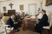 Pope Francis meets with representatives of Leadership Conference of Women Religious at Vatican