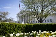 The U.S. Supreme Court in Washington seen on April 5, 2017. (CNS photo/Tyler Orsburn)