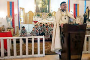 Armenian Catholic Father Hovsep Ibrahim Bedoyan of Qamishli, Syria, is pictured in an undated photo. He and his father were killed by alleged terrorists Nov. 11, 2019, en route Hassakeh to Deir el-Zour to inspect the restoration of the Armenian Catholic Church in the city. (CNS photo/courtesy Middle East Council of Churches)