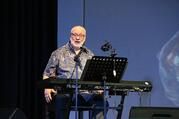 Catholic composer David Haas is shown in a concert at the Ateneo de Manila University in Quezon City, Philippines, in this 2016 photo. (CNS photo/Titopao, CC BY-SA 4.0)