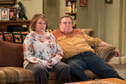 "Few art forms disappear forever, and the socially conscious sitcom has enjoyed a mini-revival recently. ABC relaunched ""Roseanne"" in the spring, but its initial success was overshadowed by the off-screen behavior of its star. (Adam Rose/ABC via AP)"