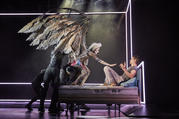 Beth Malone and Andrew Garfield in 'Perestroika,' part 2 of 'Angels in America' (photo: Brinkhoff Mögenburg)