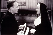 Bing Crosby and Ingrid Bergman in 'The Bells of St. Mary's' (photo: Alamy)