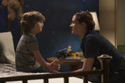 "Jacob Tremblay and Julia Roberts in ""Wonder"" (CNS photo/Lionsgate)."