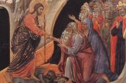 """Descent to Hell,"" by Duccio di Buoninsegna (1308-11)"