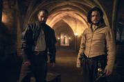Kit Harrington, right, in 'Gunpowder' (HBO)