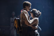 Reeve Carney and Eva Noblezada in 'Hadestown' (photo: Matthew Murphy)