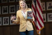 Heidi Schreck in 'What the Constitution Means to Me' (photo: Joan Marcus)