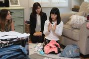 "Marie Kondo demonstrates her method of creating domestic order on her Netflix show ""Tidying Up With Marie Kondo."""